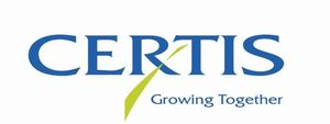 "Certis Logo mit Strapline ""Growing Together"""
